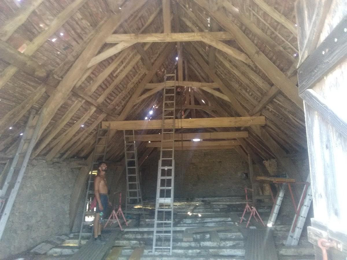 rénovation de charpente à Brive-la-Gaillarde | Entreprise Faucher David